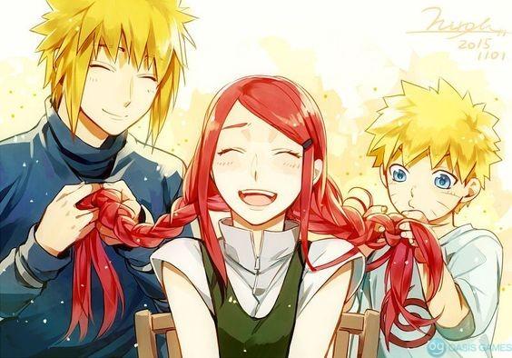 Minato-Kushina-and-Naruto-Most-adorable-thing-in-the-world-XD-minato-namikaze-40319729-564-394